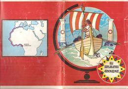 GLI ESPLORATORI ANNONE  Quaderno Vintage RIGHE CON MARGINE  USATO - Other Collections