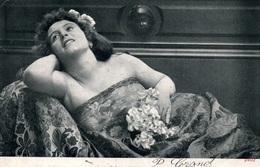 Fantaisie - Femme Allongée Sur Divan - Alterocca Terni - Carte N° 2402 Dos Simple 1903 - Donne
