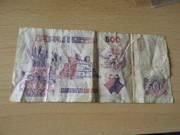 Bank De Algerien 500 Dinars 1998 Gebr - Algerien