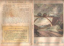 LE FERROVIE 1949  Quaderno Vintage RIGHE CON MARGINE  USATO - Other Collections