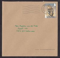 Netherlands: Cover, 2020, 1 Stamp, Bird, Animal (traces Of Use) - Periodo 2013-... (Willem-Alexander)