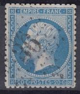 FRANCE : EMPIRE 20c BLEU N° 22 OBLITERATION ETOILE DE PARIS N° 36 - 1862 Napoléon III