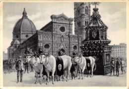 Firenze - Il Carro Del Sabato Santo - Firenze (Florence)