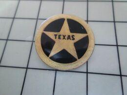 415c Pin's Pins / Beau Et Rare / THEME : POLICE / ETOILE DE SHERIF DU TEXAS Pour Tous Ceux Qui Jouent Les Cow-boys ! - Police