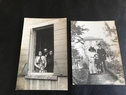 Lot De 2 PHOTOS - 1911  - Villa «Laurence» LYON 3e Quartier Montchat - Places