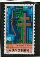 WALLIS ET FUTUNA - GENERAL DE GAULLE - N° 74 NEUF CHARNIERE -ANNEE 1977 - Unused Stamps
