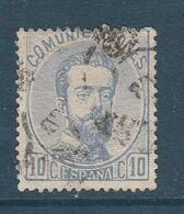 ESPAGNE OBLITERE N° 119 - 1872-73 Reino: Amadeo I