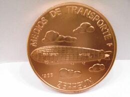 """Cuba, Un Peso 1988, """"ENVIOS DE TRAMPORTE, EL ZEPPELIN"""", UNC, MINT. """"COBRE""""Gracias Por Visitar Mi Pagina. - Cuba"""