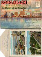 Dépliant 20 Vues - Long Beach - California - The Queen Of The Beaches   (119640) - Long Beach