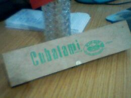 BOITE CIGARETTES CUBALAMI - Boites à Tabac Vides