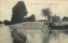 18.  VIERZON .  Vue Sur Le Canal .  Une écluse . - Vierzon