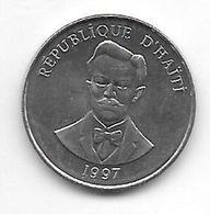 *haiti 5 Cents 1997 Km 154a   Unc - Haïti