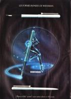 """PUB  STYLO Et STYLO PLUMES """" WATERMAN  """"  1980 ( 31 ) - Stylos"""