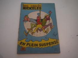 LES PIEDS NICKELES ... 53 .... EN PLEIN SUSPENSE ... EDITION ORIGINALE 1963 - Pieds Nickelés, Les