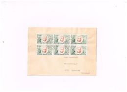 Lettre De Cilaos (Réunion) à Eynatten (Belgique) - Marcophilie (Lettres)