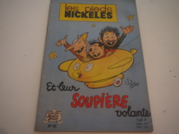LES PIEDS NICKELES ... 48 ... ET LEUR SOUPIERE VOLANTE ... EDITION 1963 - Pieds Nickelés, Les
