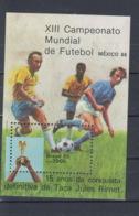 Brasilien Michel Cat.No. Mnh/** Sheet 68 Soccer - Blocs-feuillets