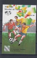 Brasilien Michel Cat.No. Mnh/** Sheet 69 Soccer - Blocs-feuillets