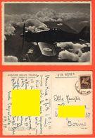 Aviazione Militare Italiana Aereo Macchi MC 200 Aeronautica 1943 Via Aerea - Other