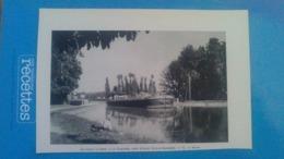 AFFICHE - PHOTOS SUR PAPIER -  LE CANAL LATERALE A LA GARONNE PRES D AGEN  ( LOT ET GARONNE ) - Reproductions