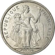 Monnaie, Nouvelle-Calédonie, 2 Francs, 1971, Paris, TTB+, Aluminium, KM:9 - New Caledonia