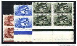 ESPAÑA **1063/5 Nuevo Sin Charnela. - 1931-50 Neufs