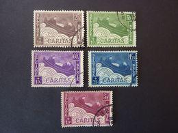 BELGIQUE, Année 1927, YT N° 249 à 253 Oblitérés, Série Complète De 5 Valeurs - Belgium