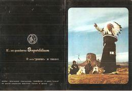 PELLIROSSE SUPERLILIUM  Quaderno Vintage RIGHE CON MARGINE  USATO - Other Collections
