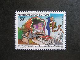 Cote D'Ivoire: TB N° 939, Neuf XX. - Ivoorkust (1960-...)