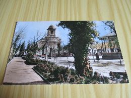 CPSM Batna (Algérie).Place De L'Eglise. - Batna