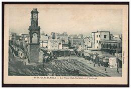 CASABLANCA La Place Bab Es Souk Et L'horloge - Casablanca