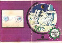 ARMSTRONG E ALDRIN SUPERLILIUM  Quaderno Vintage RIGHE CON MARGINE  USATO - Other Collections