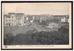CASABLANCA Entrée De L'avenue Mers Sultan - Casablanca