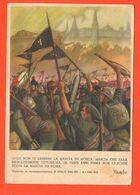 Marcia Su Mosca Boccasile Propaganda Fascismo Discorso Italo Balbo 1941 - Patrióticos
