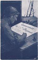 Militaria : Souvenir Du 14éme Régiment Des Chasseurs Alpins ( Guerre 1914-1918 ) - Illustration - SID - Paris - - War 1914-18