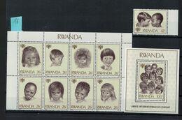 Bloc   Rwanda** NEUF - Rwanda