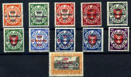 Danzig Nº 200A/200. Año 1930 - Unused Stamps