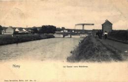Mons - Nimy - Le Canal Vers Mézières - Nels Série 107 N° 15 - Mons