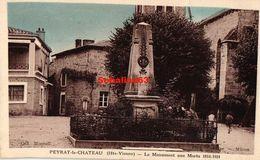 Peyrat-le-Chateau - Le Monument Aux Morts 1914-1918 - Francia