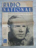 Journal RADIO NATIONAL Juin 1942 Organe Officiel De La Radiodiffusion Nationale 1939 1945 Chevalier Boyer E Piaf Stalag - Journaux - Quotidiens