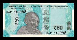 India 50 Rupees Gandhi 2017 Pick 111a SC UNC - India