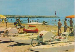 Golfe Du Lion Port La Nouvelle  La Plage Et La Jetée - Port La Nouvelle