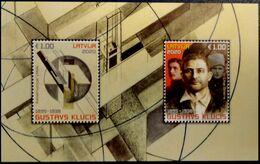 2020 Latvia Lettland Lettonie  Outstanding Latvian Artists 1895–1938 GustavS KluciS MNH  S/S - Latvia