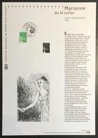 France - Document Philatélique - Premier Jour - FDC - Marianne - 2002 - 2000-2009