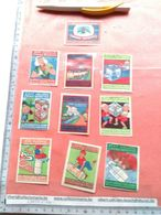 10 Poster Stamps Reklamemarken HANOVER C1905 GROOTES Cocoa Chocolate Holländ VG  Reklamemarken , Sluitzegels , Vignette - Poppen