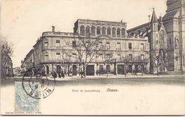 30 - NIMES - Hôtel Du Luxembourg - Nîmes