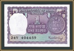 India 1 Rupee 1977 P-77 (77u) UNC - India