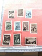 10 Poster Stamps Reklamemarken HANOVER C1905 GROOTES Cocoa Chocolate Holländ VG  Reklamemarken , Sluitzegels , Vignette - Puppen