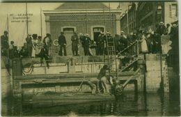 CPA FRANCE - LE HAVRE - SCAPHANDRIER SORTANT DE L'EAU - COLLECTION AD - 1910s (BG8929) - Le Havre