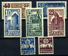 Danzig  Nº 221/5, 226/7. Año 1936/37 - Used Stamps